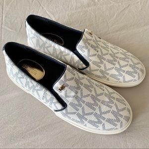 Michael Kors Boerum Navy Slip On Sneakers